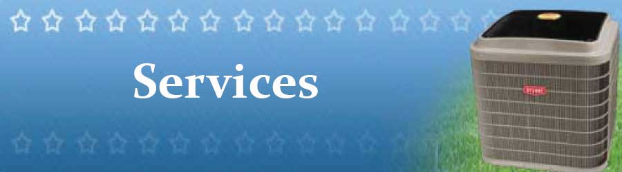 air conditioning and heating services offered